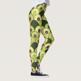 avocados in art deco leggings