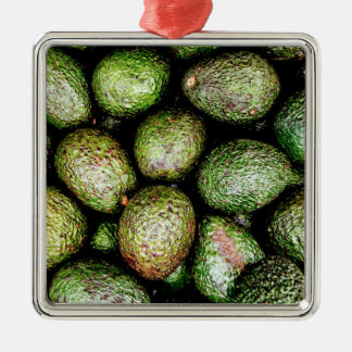 Avocados Metal Ornament