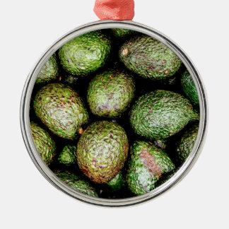 Avocados Metal Ornament