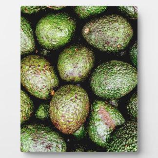 Avocados Plaque