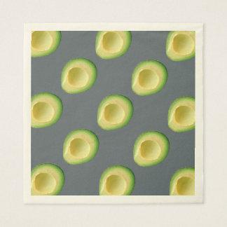 Avocados Scrumscious Disposable Napkins