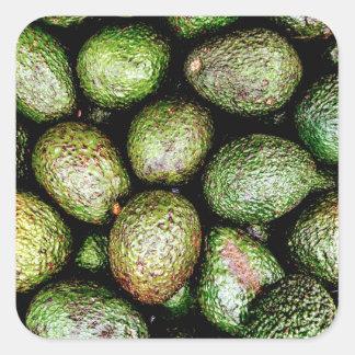 Avocados Square Sticker