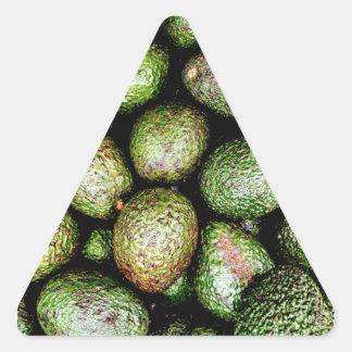 Avocados Triangle Sticker
