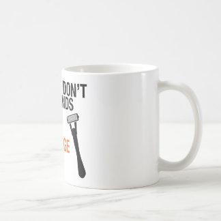 Avoid Cartridge Razor Mug