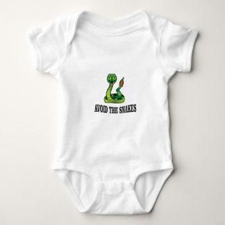 avoid the snakes baby bodysuit