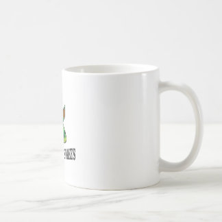 avoid the snakes coffee mug