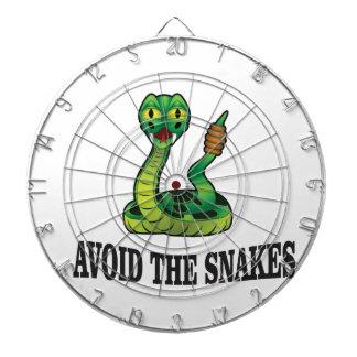 avoid the snakes dartboard