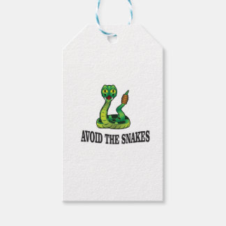 avoid the snakes gift tags