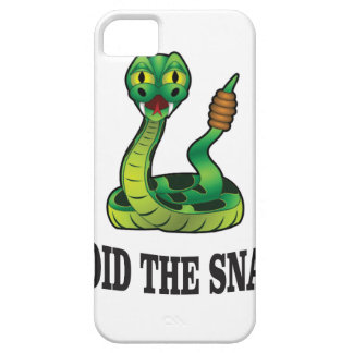 avoid the snakes iPhone 5 case