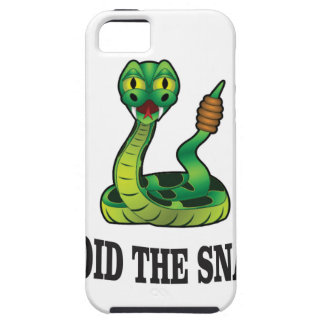 avoid the snakes iPhone 5 cover