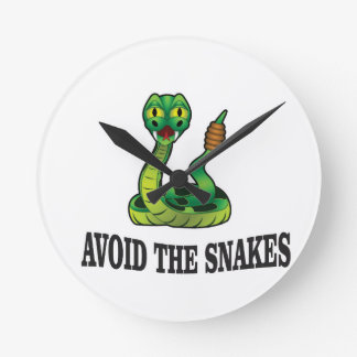 avoid the snakes round clock