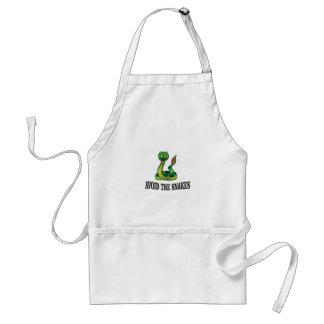 avoid the snakes standard apron
