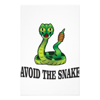 avoid the snakes stationery