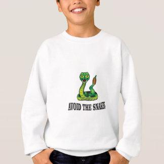 avoid the snakes sweatshirt