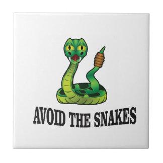 avoid the snakes tile