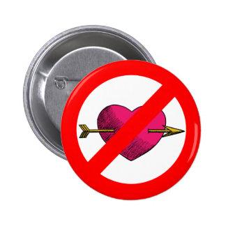 Avoid V-Day 2 Inch Round Button
