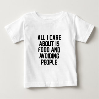 Avoiding People Baby T-Shirt