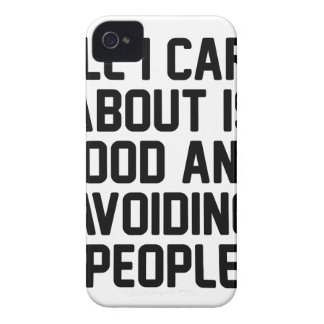 Avoiding People iPhone 4 Covers