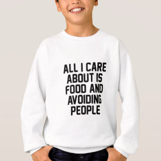 Avoiding People Sweatshirt