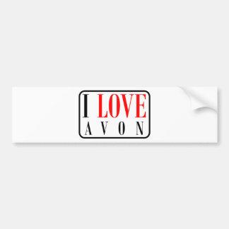 Avon, Alabama City Design Bumper Sticker