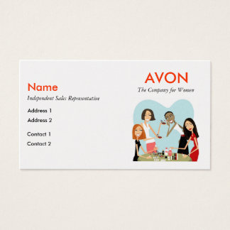 Avon Business Cards - Pearl