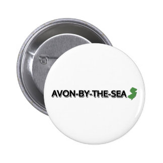 Avon-by-the-Sea, New Jersey 2 Inch Round Button