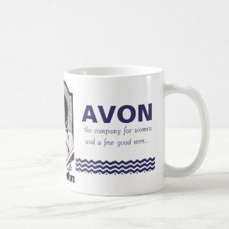 AVON CLASSIC WHITE COFFEE MUG