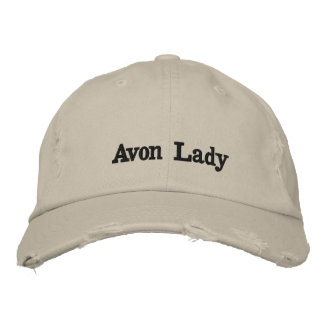 Avon Lady Hat Embroidered Hat