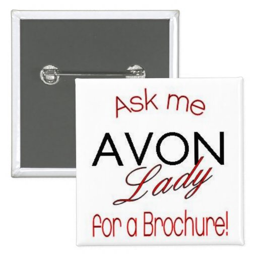 Avon Lady Pin