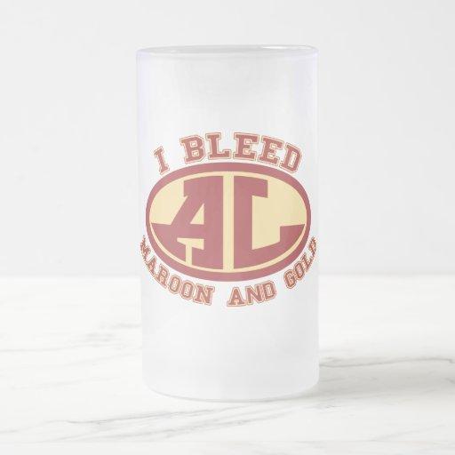Avon Lake Pride Frosted Glass Mug