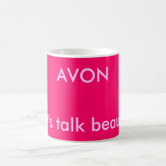 AVON, Let's talk beauty! Coffee Mug