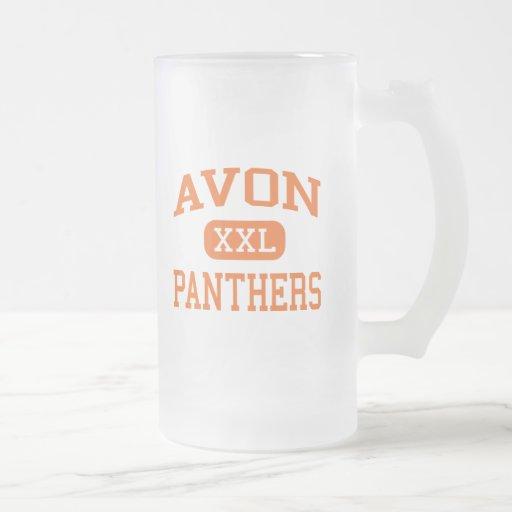 Avon - Panthers - Middle - Avon Massachusetts Mug