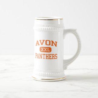 Avon - Panthers - Middle - Avon Massachusetts Coffee Mugs