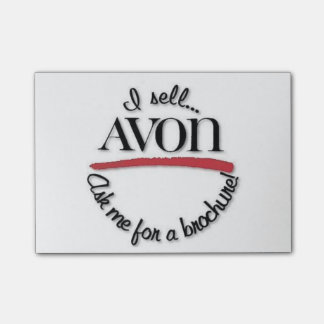 Avon Rep Post-It notes
