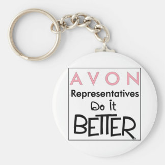 Avon Reps Do It Better key chain