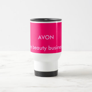 AVON, The beauty business!! 15 Oz Stainless Steel Travel Mug