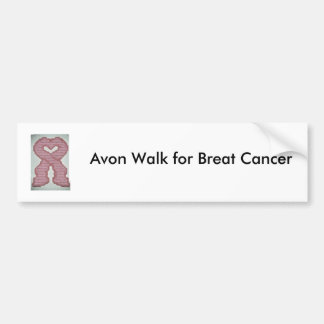 Avon Walk for Breat Cancer Bumper Sticker