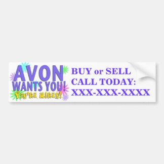 Avon Wants you Bumper Sticker