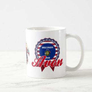 Avon, WI Coffee Mugs