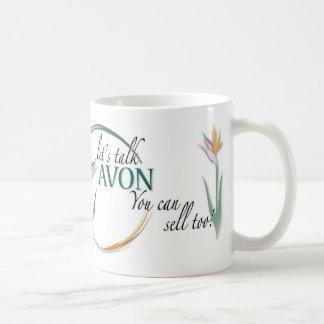 Avon-You can sell too! Classic White Coffee Mug