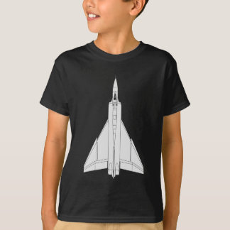 Avro Arrow Blueprint T-Shirt