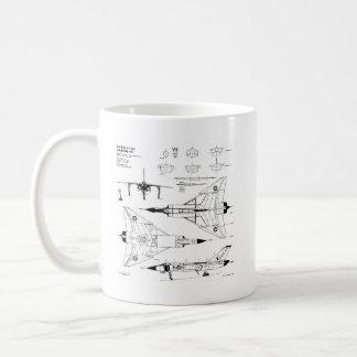 Blueprint coffee travel mugs zazzle canada avro arrow coffee mug malvernweather Gallery