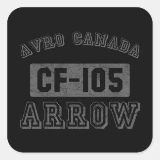 Avro Canada CF-105 Arrow Square Sticker