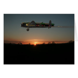 Avro Lancaster Card