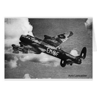 Avro-Lancaster Card