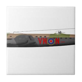 Avro Lancaster Ceramic Tile