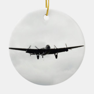 Avro Lancaster Heavy Bomber Ceramic Ornament
