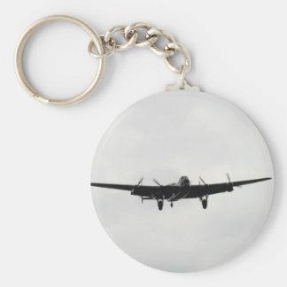 Avro Lancaster Heavy Bomber Basic Round Button Keychain