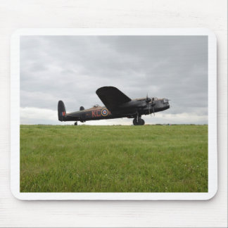 Avro Lancaster On The Field Mouse Pad