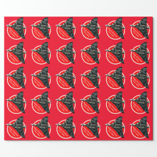 Avro Vulcan Bomber Happy Christmas Wrapping Paper